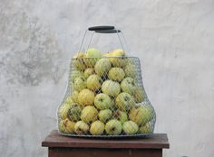Vintage  metal wire basket  new not used Egg fruits by OldBox, $30.00