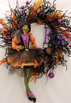Best Halloween Wreath!