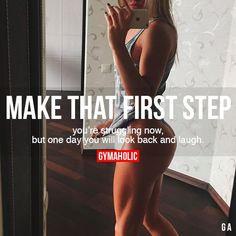 Make That First Step Mehr zum Thema auf interessante-dinge.de (Step Exercises Running)