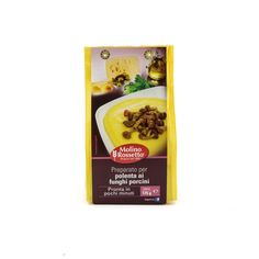 Molino Rossetto - Preparato Per Polenta ai Funghi Porcini - Ready Italian Polenta (Cornmeal) with Porcini Mushrooms - 6.2oz (175g)