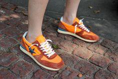 Golden Goose Deluxe Brand Running-Orange Running Shoes On Sale, Best  Running Sneakers, 1d1efde6083d