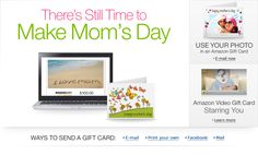 Amazon.com Mothers Day Gift Cards