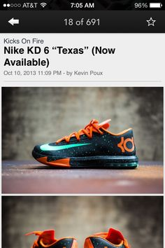 kd 6 texas for sale curry college massachusetts