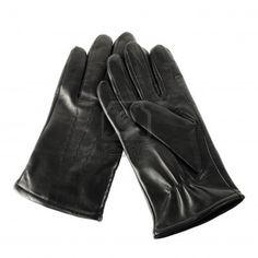 Siniestra: guante de cuero negro