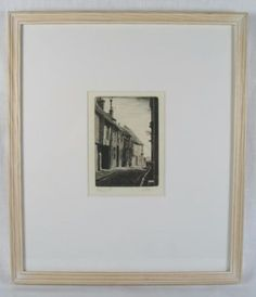 Pump Street, Rye, East Sussex, Framed Etching.  #art #etching #sussex #prints #homedecor