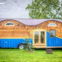 This Funky Tiny House Is Packed With Clever Design Surprises