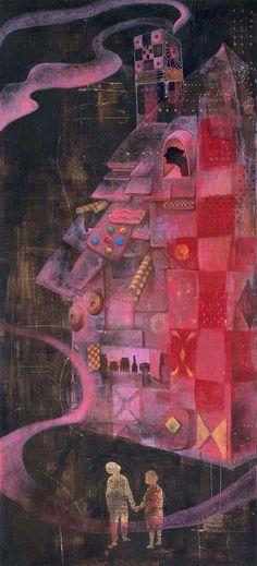 Hansel and Gretel by Eunmin Jung, via Behance