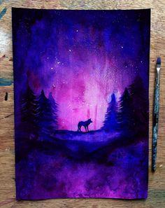 Beautiful Silhouette Paintings by British Artist Danielle Foye