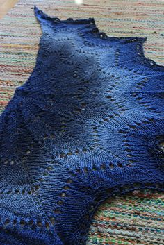Ravelry: Project Gallery for Revontuli -huivi/Northern Lights pattern by AnneM