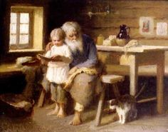 Ivan Andreievitch Pelevin ~Russian Artist 1840-1917~ Isoisa (Grandfather)