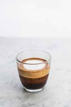 A beautiful Macchiato made using CRU Kafe's organic, single origin coffee pods