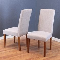 Shop for Seville Linen Dining Chairs (Set of 2). Get free shipping at Overstock.com - Your Online Furniture Outlet Store! Get 5% in rewards with Club O! - 13651290