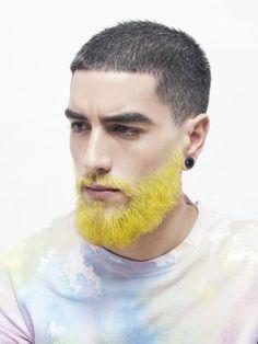 pastel hair men