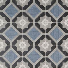 Delancey Starwood Blue 8x8 Matte Porcelain Tile | Tilebar.com Shower Floor Tile, Bathroom Floor Tiles, Wall And Floor Tiles, Wall Tiles, Bathroom Wall, Downstairs Bathroom, Bathroom Ideas, Scandinavian Tile, Wood Mosaic