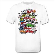 Comic Onomatopoeia T-Shirt