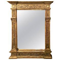 Italian Renaissance Style Mirror Frame at 1stdibs