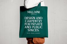 Maldini Studios. Identity for a Stockholm based interior design and carpenter firm. – Jens Nilsson