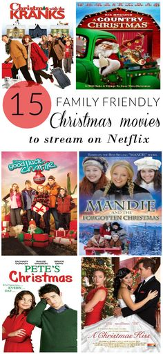 Family Friendly Christmas Movies to Stream on Netflix  #StreamTeam AD