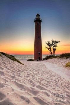 Little Sable Point Light - 10 miles South of Pentwater, MI
