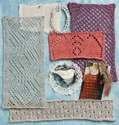 lace knits mood board