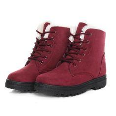 women winter boots heels snow boots
