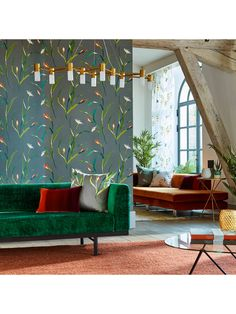 Saona by Harlequin - Kiwi / Charcoal - Wallpaper : Wallpaper Direct Harlequin Wallpaper, Modern Wallpaper, Wall Wallpaper, Designer Wallpaper, Wallpaper Designs, Beautiful Wallpaper, Charcoal Wallpaper, Made To Measure Curtains, Inspirational Wallpapers