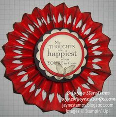 Medallion with Hearts - Everyday Enchantment SAB designer series paper