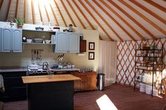 Someday I will build a yurt and live in it.