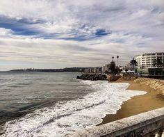 Essa semana falaremos do #Chile! Viña del Mar (foto) e #Valparaíso. Dois lugares ótimos pra quem vai a Santiago!