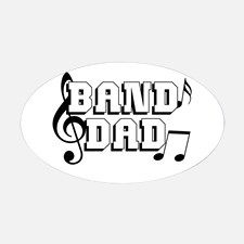 Band Dad Decal for