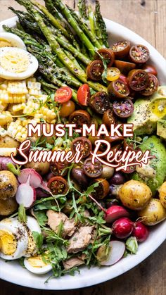 Easy Healthy Recipes, Veggie Recipes, Diet Recipes, Cooking Recipes, I Love Food, Good Food, Summer Dishes, Grilling Recipes, Summer Recipes