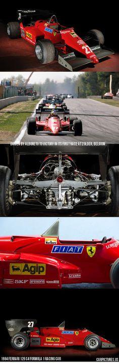 1984 Ferrari 126 C4 Formula 1 Racing Car