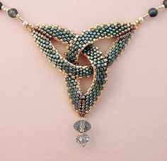 The Celtic motives in beaded creativity - Beads and everything that is connected with it   Ideas for creativity   by Beads