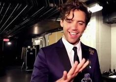 A very excited and happy Mika after the concert with the OSM in Montréal (Feb 2015)