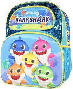 Baby Shark Kids Children Back to School Backpacks and Lunch Bags #babysharkbackpack #babysharkkidsbackpack #babysharkschoolbackpack #babysharklunchbag Back To School Backpacks, Kids Backpacks, Sequin Backpack, Backpack Bags, Sharks For Kids, Best Travel Backpack, Us School, Backpack Reviews, Baby Shark
