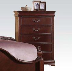 Acme Furniture - Gwyneth 5 Drawers Chest in Cherry - 21866