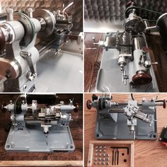 An outstanding watchmakers lathe