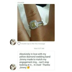Always love receiving pics from Romantic Love Stories, Love Story, Heart Ring, Engagement Rings, Jewelry, Enagement Rings, Wedding Rings, Jewlery, Bijoux