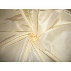"ivory tusk silk taffeta 60"" wide"