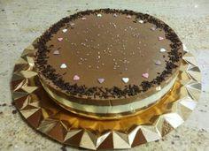 Tarta de tres chocolates para un cumpleaños!!