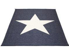 Vloerkleed Viggo Star Blue 180 x 230