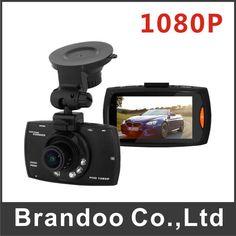 Free shipping Car DVR Vehicle Camera Full HD 1080P Video Recorder Dash Cam G-sensor 170 wide angle 32GB sd card