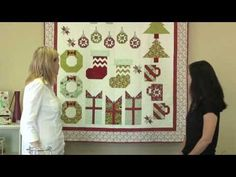 Deck-ade the Halls with Fat Quarter Shop - Season of Giving instructional video.  Tips, tricks and piecing techniques!
