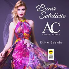 AC Magazine | News | Bazar Solidário Arthur Caliman na Fundação Dorina Nowill Vestidos de festa formatura e madrinhas  13,14 e 15 julho Moda Festa  Vestido bordado  Vestido curto  Moda  Vestido longo