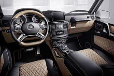 """Mercedes-Benz G-Klasse """"designo manufaktur"""": Maß-G-schneidert!"""