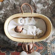 Handmade Woven Baby Basket | DesignDua on Etsy