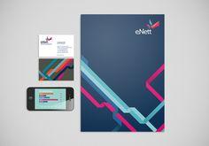 eNett collateral // FutureBrand