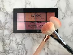 Nyx Cosmetics Sweet Cheek Palette Blush Rouge Swatch