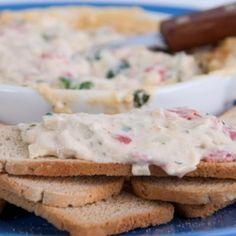 Dip de alcachofas con queso parmesano @keyingredient