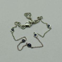 Bratara aur alb 18k cu safire Aur, Bracelets, Jewelry, Jewlery, Bijoux, Schmuck, Jewerly, Bracelet, Jewels